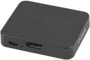 LANBERG HDMI TO 2X HDMI 4K + MICRO USB PORT VIDEO SPLITTER