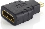 EQUIP 118915 VIDEO ADAPTER MICROHDMI TYPE D -> HDMI TYPE A M/F BLACK