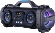 AKAI ABTS-SH01 PORTABLE BLUETOOTH SPEAKER 51W KARAOKE WITH LED, USB, AUX-IN