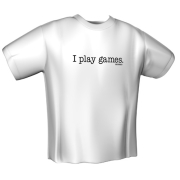 GAMERSWEAR T-SHIRT I PLAY GAMES (XXL)