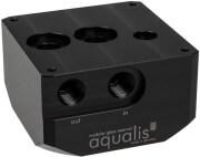 AQUA COMPUTER PUMP ADAPTER FOR D5 PUMPS COMPATIBLE WITH AQUALIS BASE G1/4