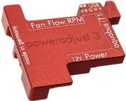 AQUA COMPUTER PASSIVE HEAT SINK FOR POWERADJUST 3 RED