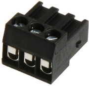 AQUA COMPUTER PLUG FOR RELAY CONNECTOR, 3 CONTACTS (FOR AQUAERO 5 AND 6)