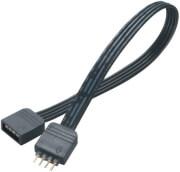 AKASA AK-CBLD01-50BK LED STRIP LIGHT EXTENSION CABLE 4-PIN 50CM BLACK