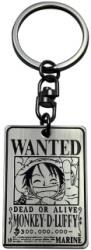 ONE PIECE KEYCHAIN WANTED LUFFY