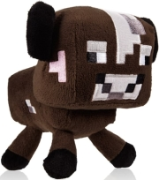 JINX MINECRAFT BABY COW 17.8CM PLUSH