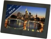 BRAUN DIGIFRAME 1360 13.3'' PHOTO FRAME WITH SPEAKERS BLACK ACRYLIC