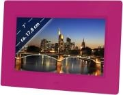 BRAUN DIGIFRAME 709 7'' PHOTO FRAME PINK