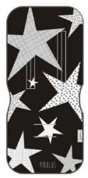 ΣΤΡΩΜΑ ΚΑΡΟΤΣΙΟΥ ΜΟΝΗΣ ΟΨΗΣ XTREME BABY MEGASTAR BLACK 81X35CM
