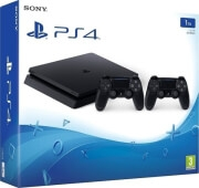 PLAYSTATION 4 CONSOLE 1TB SLIM & 2ND CONTROLLER
