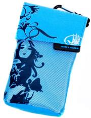 ΘΗΚΗ UNIVERSAL BODY GLOVE BEACHY BLUE - BLUE FABRIC