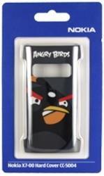NOKIA FACEPLATE CC-5004 ANGRY BIRDS FOR X7 BLACK PLASTIC