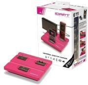 IDAPT I3 WITH 6 TIPS PINK MICRO USB / APPLE / MINI USB