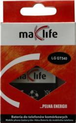 MAXLIFE BATTERY FOR LG GT540 SWIFT 1600MAH