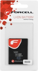 FORCELL BATTERY FOR SAMSUNG GALAXY MINI 2 (S6500)/YOUNG (S6310)/ACE PLUS (S7500) 1600MAH LI-ION HQ
