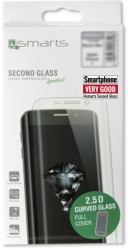 4SMARTS SECOND GLASS CURVED 2.5D COLOUR FRAME FOR IPHONE X EDITION BLACK