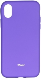 ROAR COLORFUL JELLY BACK COVER CASE FOR APPLE IPHONE X PURPLE