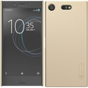 NILLKIN SUPER FROSTED SHIELD BACK COVER CASE FOR SONY XPERIA XZ1 COMPACT GOLD