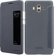 NILLKIN SPARKLE LEATHER FLIP CASE FOR HUAWEI MATE 10 GREY