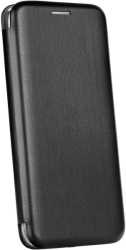 FORCELL ELEGANCE BOOK FLIP CASE FOR SAMSUNG A5 2018 / A8 2018 BLACK