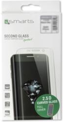 4SMARTS SECOND GLASS CURVED 2.5D COLOUR FRAME FOR LG K10 (2017) BLACK