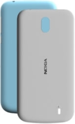 NOKIA X-PRESS ON COVER XP-150 DUAL PACK FOR NOKIA 1 GREY & AZURE