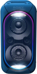 SONY GTK-XB60L EXTRA BASS HIGH POWER AUDIO SYSTEM WITH BUILT-IN BATTERY BLUE
