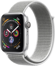 APPLE WATCH 4 MU652 40MM SILVER ALUMINUM CASE WITH SEAHELL SPORT LOOP