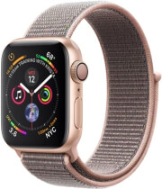 APPLE WATCH 4 MU692 40MM GOLD ALUMINUM CASE WITH PINK SAND SPORT LOOP