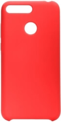 FORCELL SILICONE BACK COVER CASE FOR HUAWEI Y6 PRIME 2018 / Y6 2018 RED