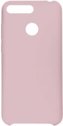 FORCELL SILICONE BACK COVER CASE FOR HUAWEI Y6 PRIME 2018 / Y6 2018 PINK