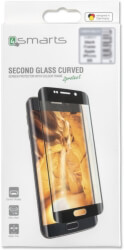 4SMARTS SECOND GLASS CURVED COLOUR FRAME FOR HUAWEI P30 LITE BLACK