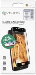 4SMARTS SECOND GLASS COLOUR FRAME ''CASE FRIENDLY'' FOR HUAWEI MATE 20 PRO BLACK