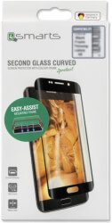 4SMARTS SECOND GLASS CURVED COLOUR FRAME EASY-ASSIST FOR APPLE IPHONE XR BLACK