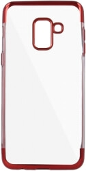 PLATING SOFT TPU BACK COVER CASE FOR XIAOMI REDMI 6 RED