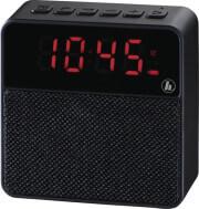 HAMA 173167 POCKET CLOCK MOBILE BLUETOOTH SPEAKER BLACK