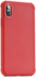 ROAR ARMOR CARBON BACK COVER CASE FOR SAMSUNG GALAXY S9 PLUS RED