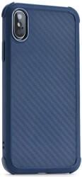 ROAR ARMOR CARBON BACK COVER CASE FOR XIAOMI REDMI NOTE 8 BLUE