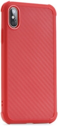 ROAR ARMOR CARBON BACK COVER CASE FOR XIAOMI REDMI NOTE 8 RED