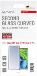 4SMARTS SECOND GLASS CURVED COLOUR FRAME FOR XIAOMI MI NOTE 10 / MI NOTE 10 PRO BLACK