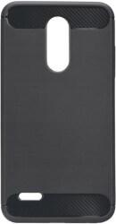 FORCELL CARBON BACK COVER CASE FOR LG K20 2019 BLACK