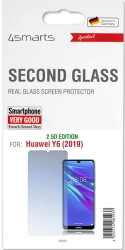 4SMARTS SECOND GLASS 2.5D FOR HUAWEI Y6 2019