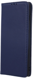 GENUINE LEATHER FLIP CASE SMART PRO FOR XIAOMI REDMI NOTE 9S / 9 PRO NAVY BLUE