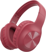HAMA 184060 BLUETOOTH CALYPSO HEADPHONES OVER-EAR MICROPHONE BASS BOOSTER RED