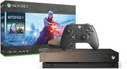 XBOX ONE X CONSOLE 1TB & GOLD RUSH SPECIAL EDITION BATTLEFIELD V & GEARS OF WAR 4 (CODE)