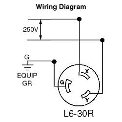 30 Amp 250 Volt Plug Wiring Diagram Database
