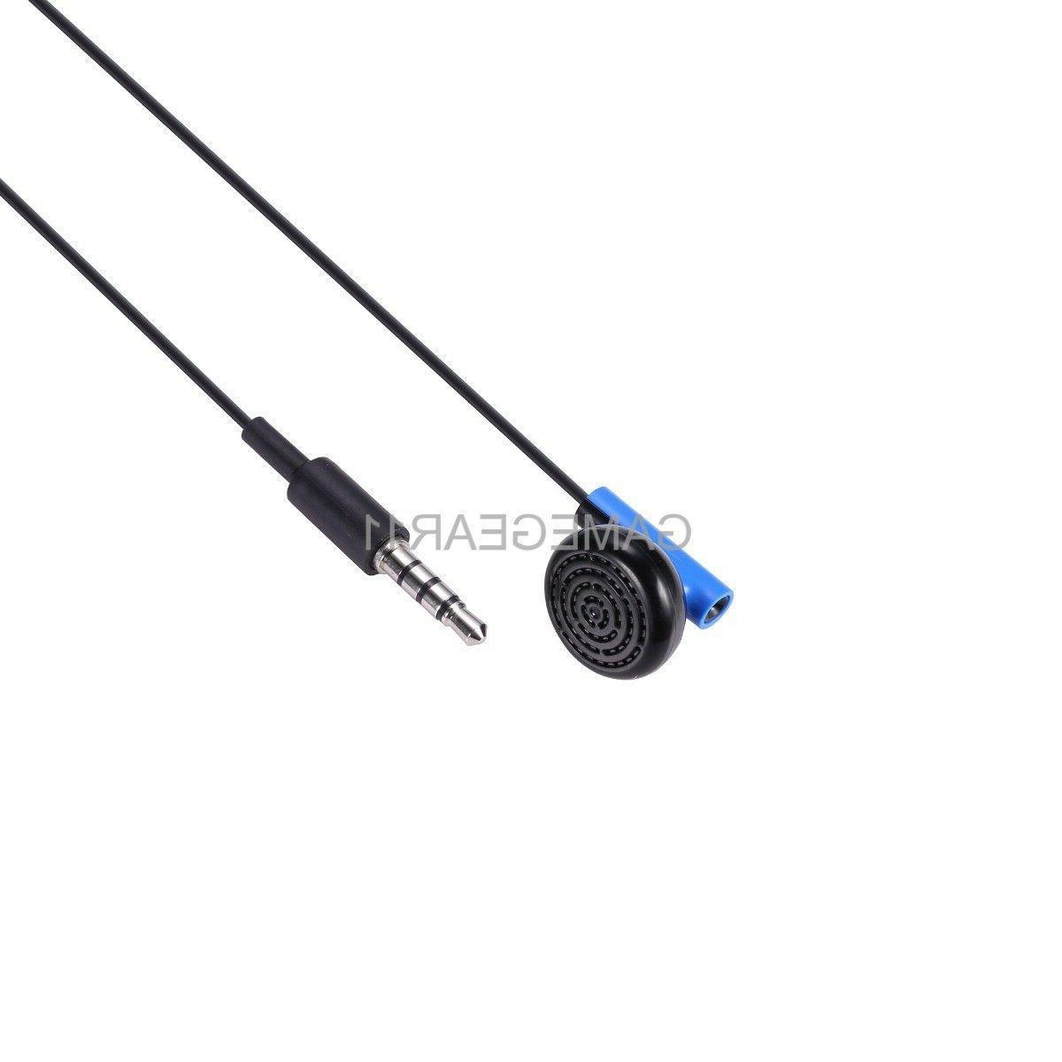 Sony Playstation 4 PS4 Headset Earbud Microphone Earpiece