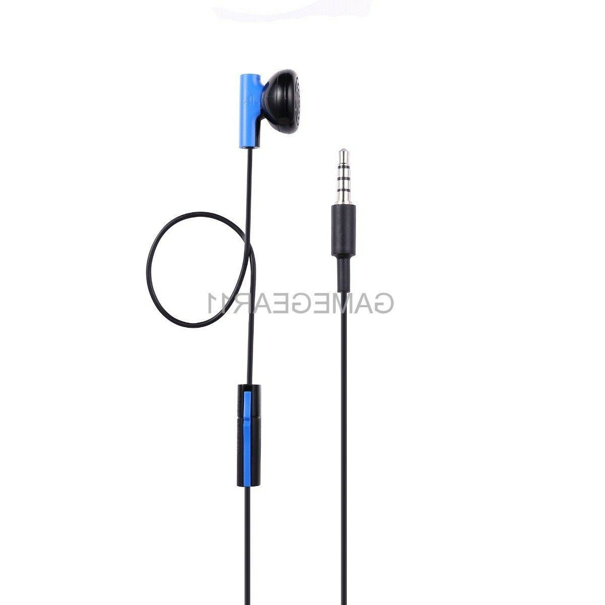 Sony Playstation 4 PS4 Headset Earbud Microphone Earpiece
