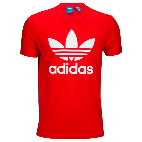 Adidas Originals Trefoil T Shirt Mens Casual