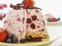 Italienische Eistorte mit kandiertem Obst Rezept  EAT SMARTER